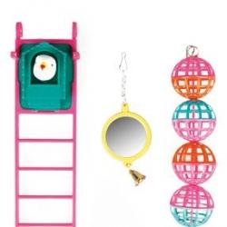 Brinquedos - Espelho + Bolas + Escada