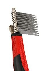 Dematting Comb + Handle Large Straight