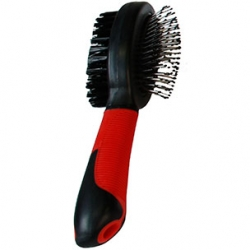 Bristle and Pin Brush + Handle Large