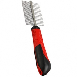 Comb With Handle Double