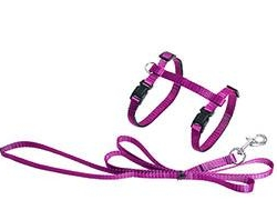 ASP Cat Harness + Leash Pink 110cm