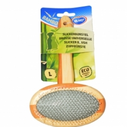 Bamboo Slicker Brush Large 19.5cmx12cm