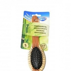 Bamboo Pin Brush Small 19.5x5.5cm