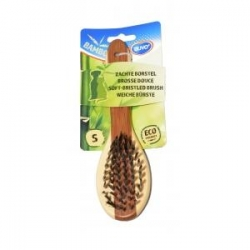 Bamboo Escova Suave Small 19.5x5.5cm