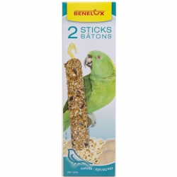 Sticks P/ Papagaio - Pipocas e Arroz 2x90g