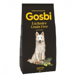 Gosbi Exclusive Grain Free Adult Fish Medium 3kg