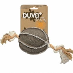 Dogtoy Canvas Ball With Rope