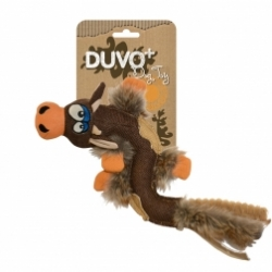 Dogtoy Canvas Jute Cow