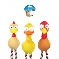 Dogtoy Latex Squeaky Poultry 28cm