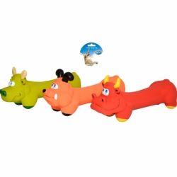 Dogtoy Latex Squawky Bone Animals 18cm