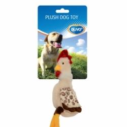 Dogtoy Pluche Chicken 35x15x1.5cm