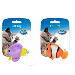 Cattoy Sort Fish 2pcs 7.5x9x3.5cm