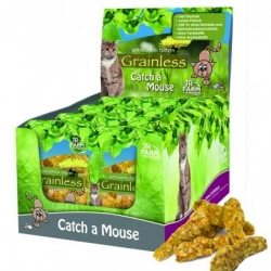 Jr Cat Grainless Nature Drops - Catch a Mouse 30g
