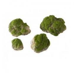 Deco. Moss Stone L 17x11x13.5cm com Ventosa