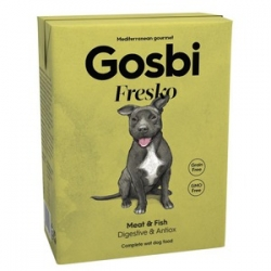 Gosbi Fresko Dog Meat&Fish 375grs