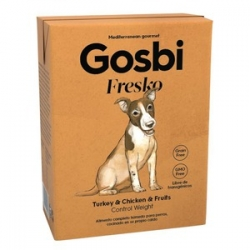 Gosbi Fresko Dog Turkey&Chicken 375grs