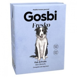 Gosbi Fresko Dog Fish&fruits 375grs