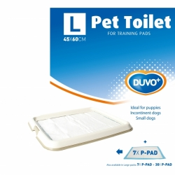 Pet Toilet +7 Pads Large L 65x55x4cm