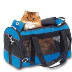 Carr. Bag Divina Blue 50x28x30cm