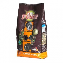 Funny Premium Cobaia + Vit. C+ 2.5kg