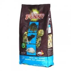 Funny Premium Rato e Gerbil 2.5kg