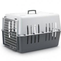 Pet Carrier 4 Cinza Claro