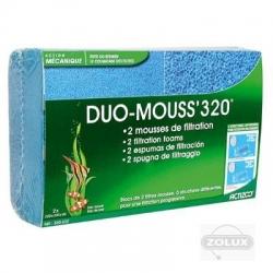 2 Esponjas Filtrantes Duo Mouss 320 - 200g