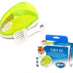 Hamster Potty Kit Green