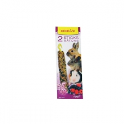 Sticks P/ Roedores - Frutos do Bosque 2x65g
