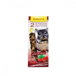 Sticks P/ Chinchilas - Frutos do Bosque 2x55g