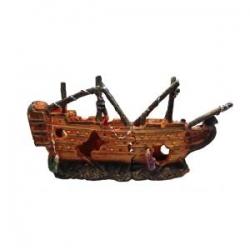 Decoracao Shipwreck 25x6.5x12.5cm