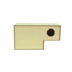 Nest Box Diamante de Gould 20x10x11cm
