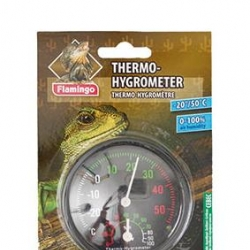 Termometro / Higrometro Analogico