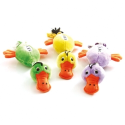 Trio Duck Plush + Wool Rope 45cm