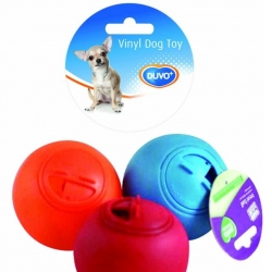 Dogtoy Vinil Treat Ball Mix  o7.5cm