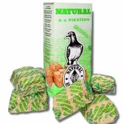 Natural Piksteen 620g  6pcs