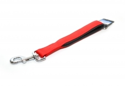 Trela Short Lead 35cm 25mm Red