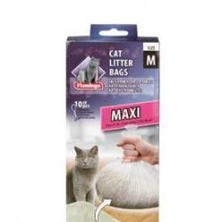 Sacos Maxi P/ Tabuleiro de Litter 10pcs