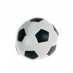 Bola de Futebol Black / White 15cm