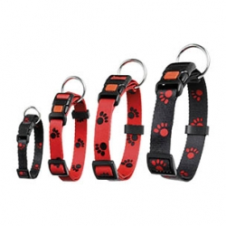 AJP Paw Collar Red 30-45cm 15mm