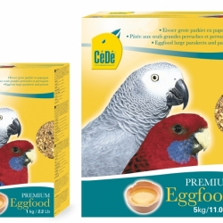 Cede Eggfood GR. Periquitos e Papagaios 1kg