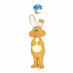 Dogtoy Latex Toy Pop Up Rabbit 23x6x7cm