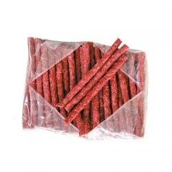 Munchy Sticks Red x100 12.5cm 9 -10mm 9g
