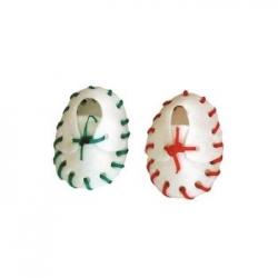 Sapato Colorido 2pcs 6cm 10 - 15g