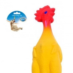 Dogtoy Latex Chicken 23x5.5x4.5cm