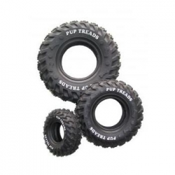Dogtoy Rubber Toy Tire 10cm Black