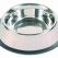 Inox Anti-slip Feeding Bowl Nr 2 O23cm 700ml