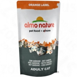 Orange Label Gato - Sardinhas 750g