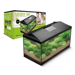 Aquael Aquário Set Leddy Plus 80cm Rectangular Preto