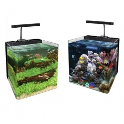 Of Aquario Nano Space 2 Black - 24l